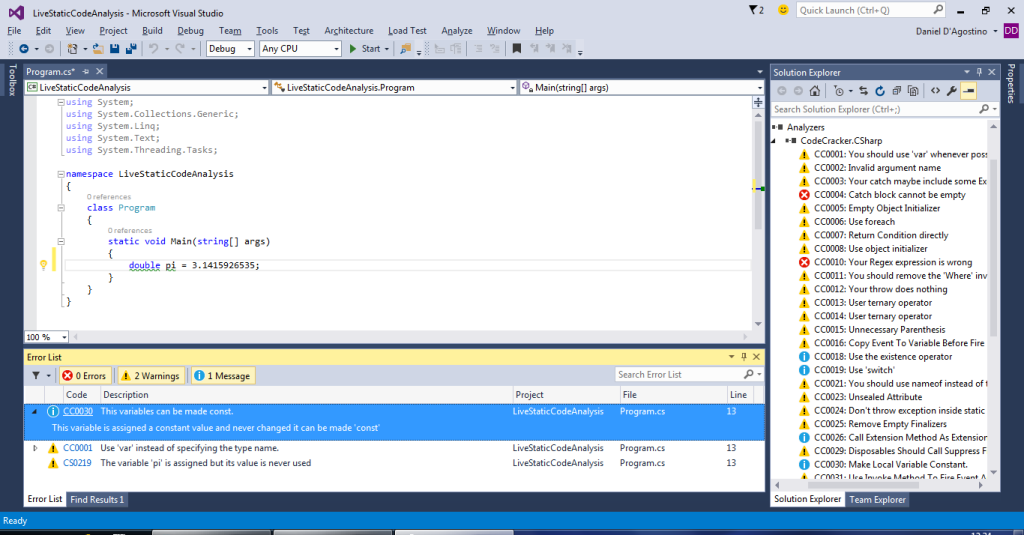 vs2015-analyzers-error-list