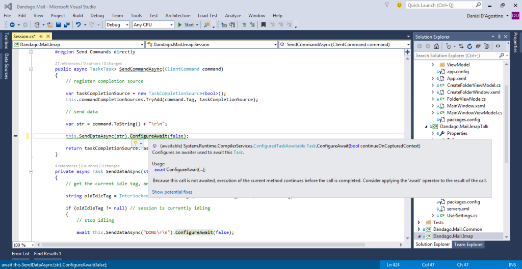 vs2015-potential-fixes
