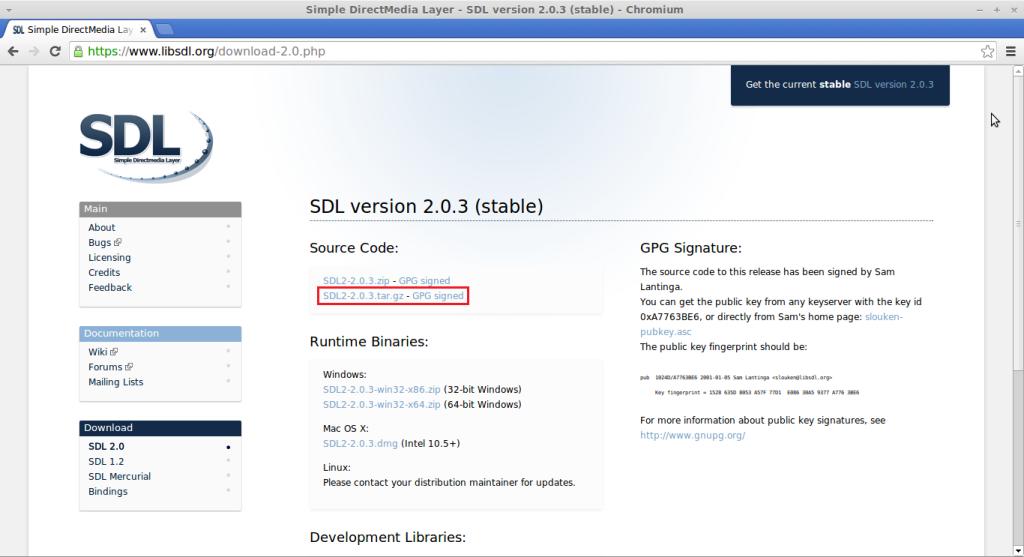 sdl2linux-download