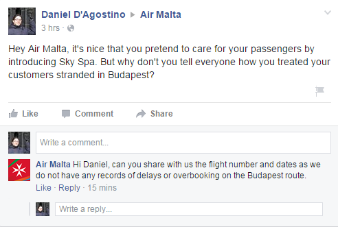 air-malta-facebook-reply