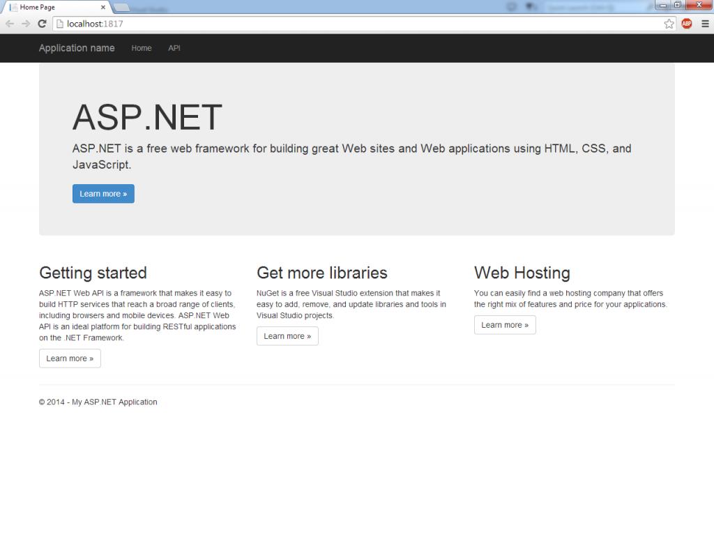 webapi-intro-initialrun-homepage