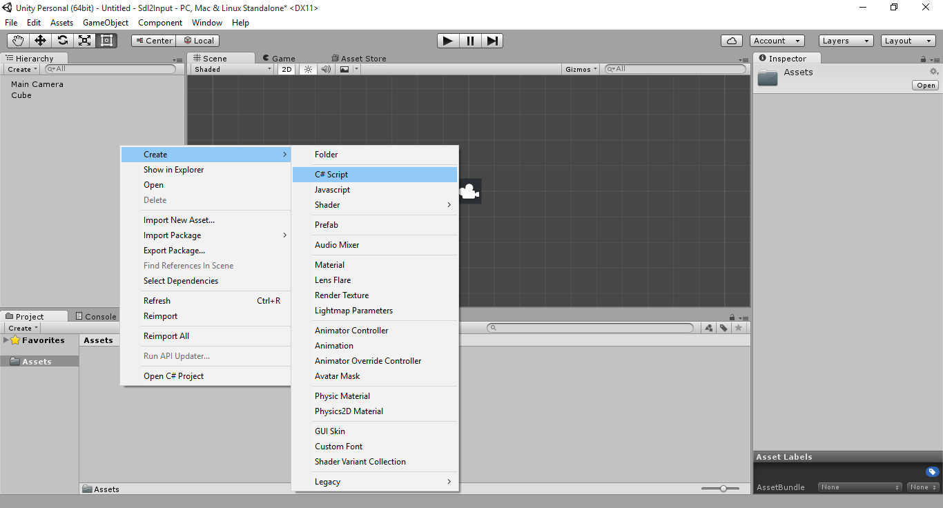 Unity3D: Moving an Object with Keyboard Input | Gigi Labs