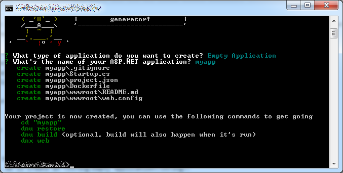 aspnet5-yeoman-application-generated