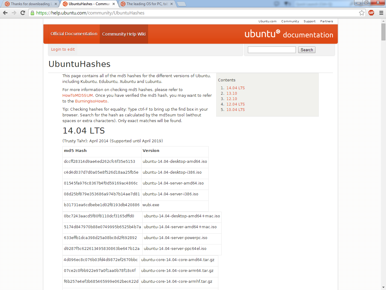 cshashfile-ubuntu-hashes