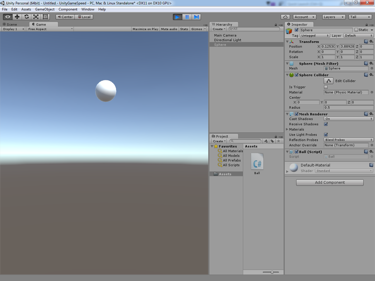 unity3d-speed-ball