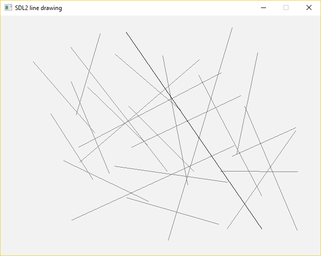 Drawing Lines In Asp : Drawing lines with sdl2 gigi labs